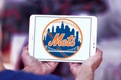 New York Mets drużyny basebolowa logo zdjęcia royalty free