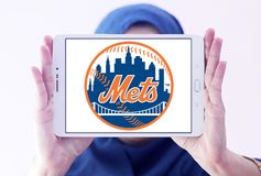 New York Mets drużyny basebolowa logo obrazy stock