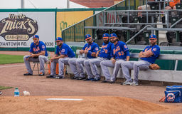 New York Mets MLB Pitching Bullpen 2017 royalty free stock photo