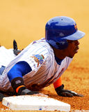 New York Mets OF Timo Perez.. Royalty Free Stock Images