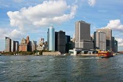 New York midtown panorama Royalty Free Stock Photography