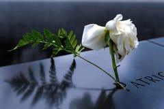 New York - 9/11 minnesmärke Arkivbild