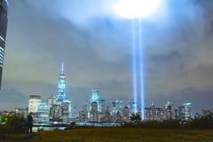 New York minnesmärke Arkivfoto