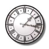 New York Minute Clock Hands. A literal description of the saying new york minute of an antique clock with metal hands with the minute hand saying new york on it royalty free illustration