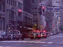 New York morgens Stockbilder