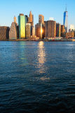 New York morning royalty free stock images