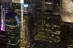 New York natt Royaltyfria Bilder
