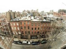 New York neighborhood Stock Photography