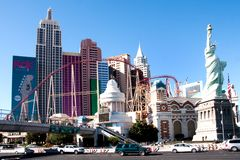 New York, New York, casino à Las Vegas, Nevada Photos libres de droits