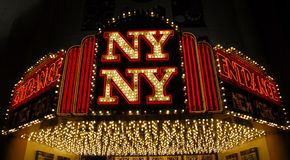 New york new york casino las vegas Stock Photo