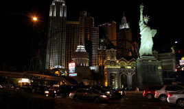 New York, New York Casino, Las Vegas, NV. Stock Photography