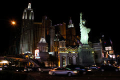 New York, New York Casino, Las Vegas, NV. Royalty Free Stock Image