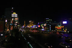 New York, New York Casino, Las Vegas, NV. Royalty Free Stock Images