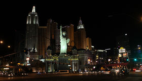 New York, New York Casino, Las Vegas, NV. Stock Photos