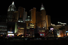 New York, New York Casino, Las Vegas, NV. Stock Image