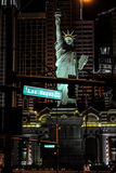 New York, New York Casino, Las Vegas, NV. Royalty Free Stock Photography