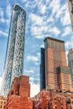 NEW YORK, NEW YORK - 27 DICEMBRE 2013: Paesaggio urbano di New York Fotografia Stock