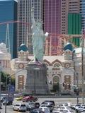 New York New York em Las Vegas Foto de Stock Royalty Free