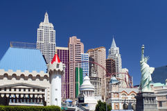New York-New York hotel Stock Images
