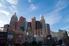 New York New York Hotel and Casino Stock Photography
