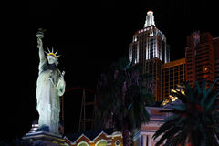 New York-New York hotel casino Stock Photos
