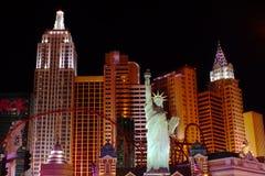 New York New York Hotel Casino Stock Photo