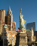 New York New York Hotel and Casino Royalty Free Stock Images
