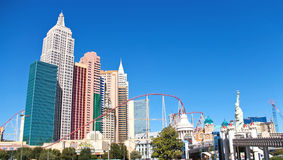 New York-New York Hotel and Casino in Las Vegas Royalty Free Stock Images