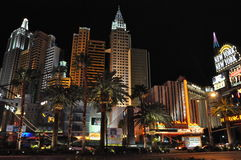 New York New York hotel-casino in Las Vegas Royalty Free Stock Photo