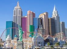 New York New York hotel and casino,Las Vegas Stock Image