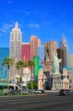New York - New York hotel and casino, Las Vegas Nevada Stock Photography