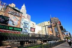 New York - New York hotel and casino, Las Vegas Nevada Royalty Free Stock Photos