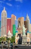 New York - New York hotel and casino, Las Vegas Nevada Royalty Free Stock Photo