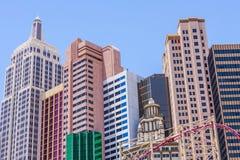 New York - New York Hotel & Casino in Las Vegas Stock Photography