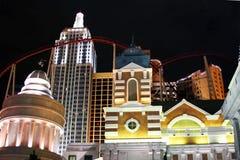 New York New York Hotel in Las Vegas. New York New York in Las Vegas Nevada Royalty Free Stock Photography