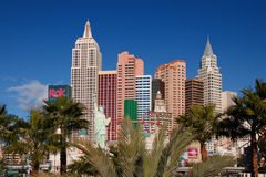 New York, New York hotel, Las Vegas Royalty Free Stock Photography