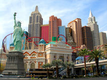 New York New York Hotel, Las Vegas Stock Photography