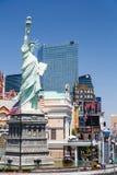 New York New York Hotel Las Vegas stock image