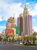 New York New York Hotel Stock Photos