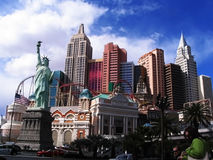 New York New York hotell Arkivfoto