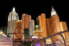 New York New York hotell Arkivbilder