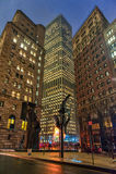 NEW YORK, NEW YORK - 10 JANVIER 2014 : Paysage urbain de New York Photo libre de droits