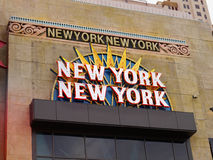 New York New York kasino, Las Vegas, Nevada Royaltyfri Foto