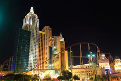 New York New York, Las Vegas Imagens de Stock