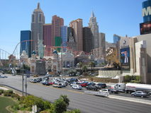 New York New York in Las Vegas Stock Photos