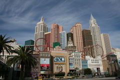 New York New York, Las Vegas Royalty Free Stock Photos