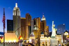 New York New York - Las Vegas Royalty Free Stock Photography