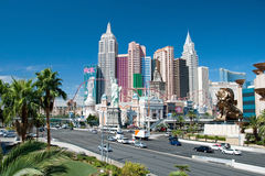 New York-New York on the Las Vegas Strip in Nevada Stock Photography