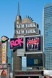 New York-New York on the Las Vegas Strip Royalty Free Stock Photography