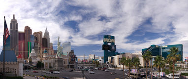 New York-New York and MGM Grand Hotel Royalty Free Stock Images